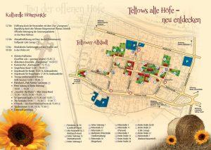 Übersichtsplan Tag der offenen Höfe in der Teltower Altstadt